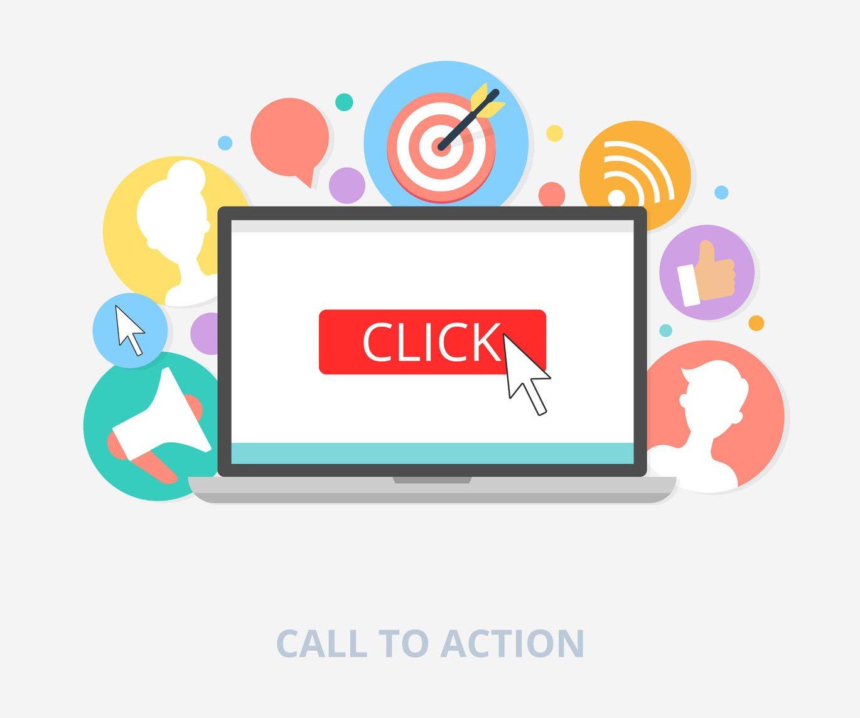 Llame la atención de los clientes con call to actions