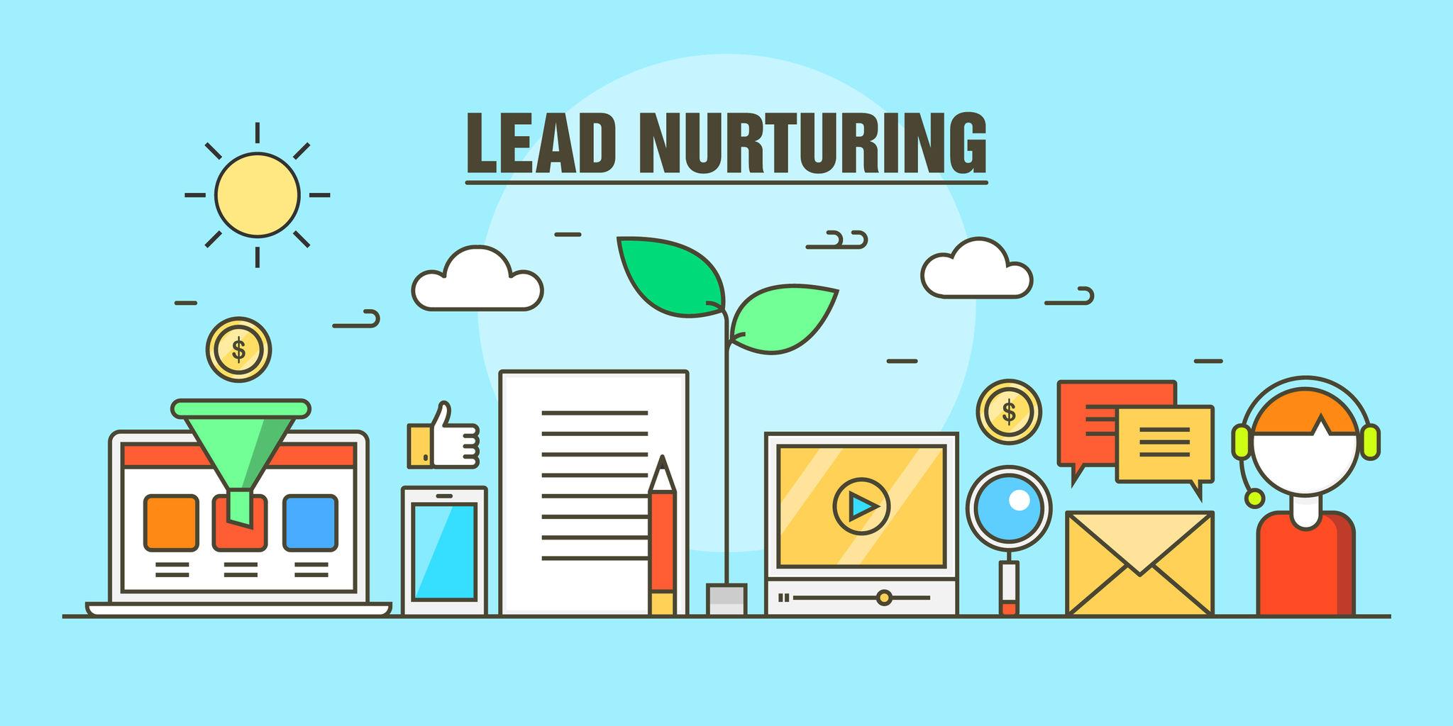¿Cómo funciona el Lead Nurturing en los cierres de ventas?