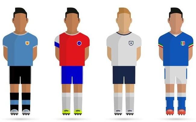 Costa Rica y sus rivales en Google: Mundial 2014