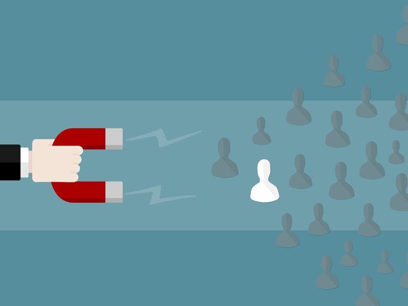 Ser un imán de buenos clientes es posible con el Inbound Marketing.