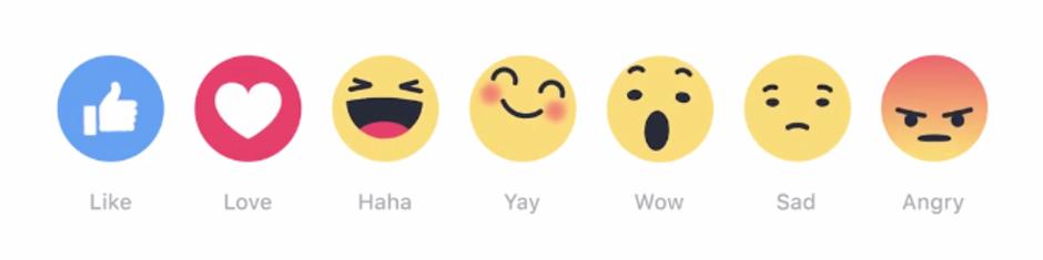 ¿Ya conoce las nuevas Reacciones de Facebook?