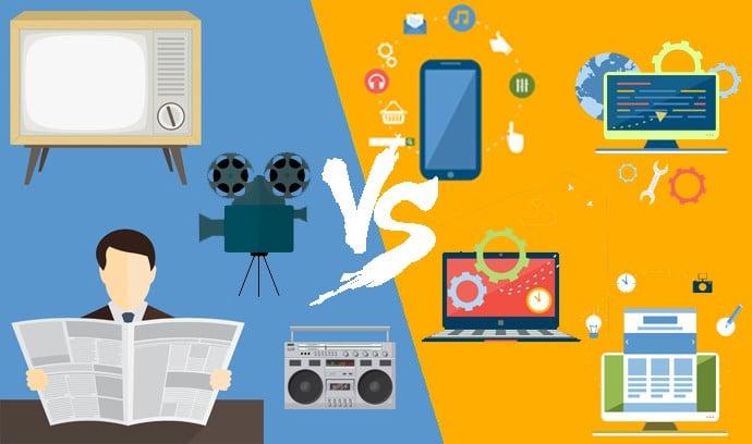 Marketing digital vs Marketing tradicional ¿Cuál es mejor?